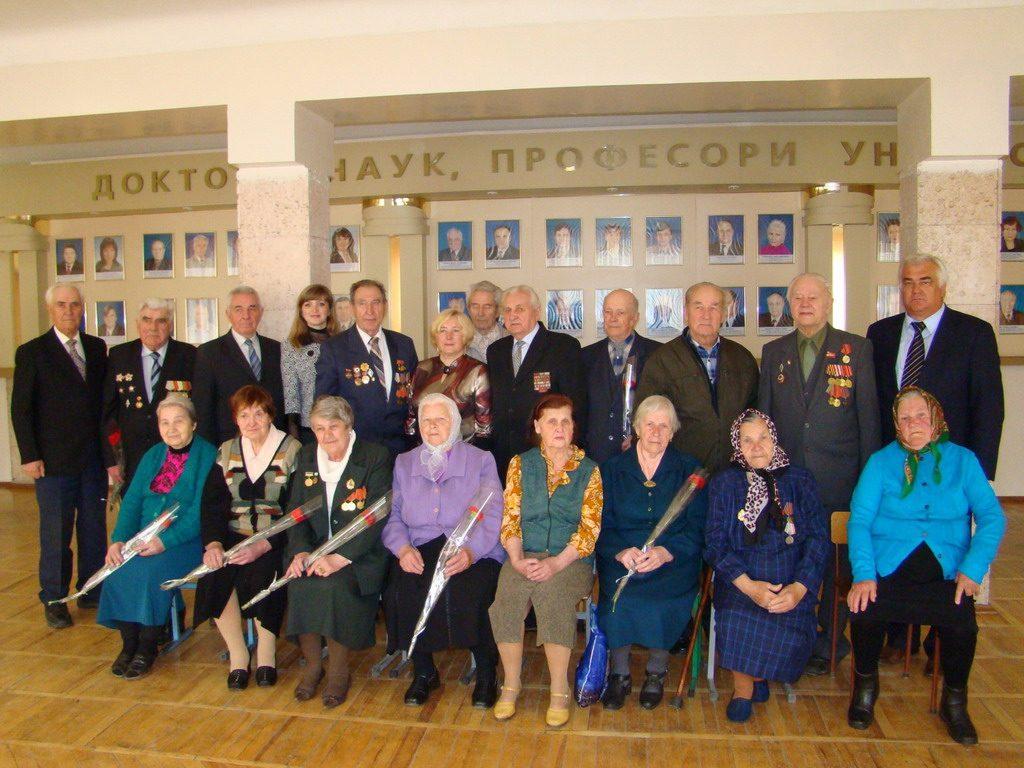 Ветерани ЖДТУ – учасники бойових дій, які зі зброєю в руках воювали на фронтах Великої Вітчизняної війни