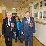 Зустріч ветеранів в актовій залі