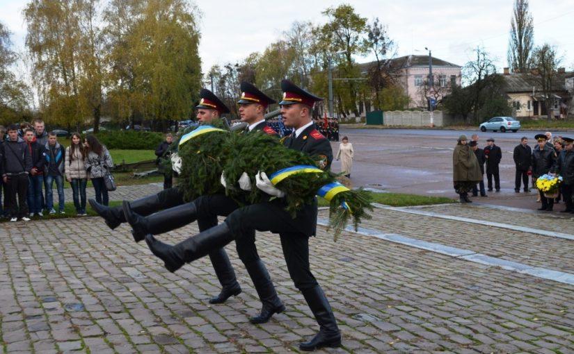 Відзначення 68-ї річниці визволення України від фашистських загарбників
