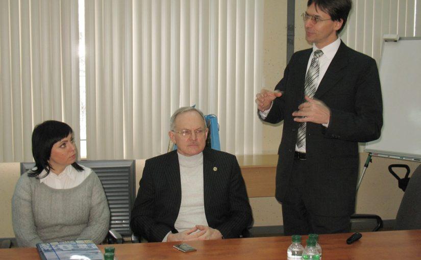 Візит представників Варшавського політехнічного університету