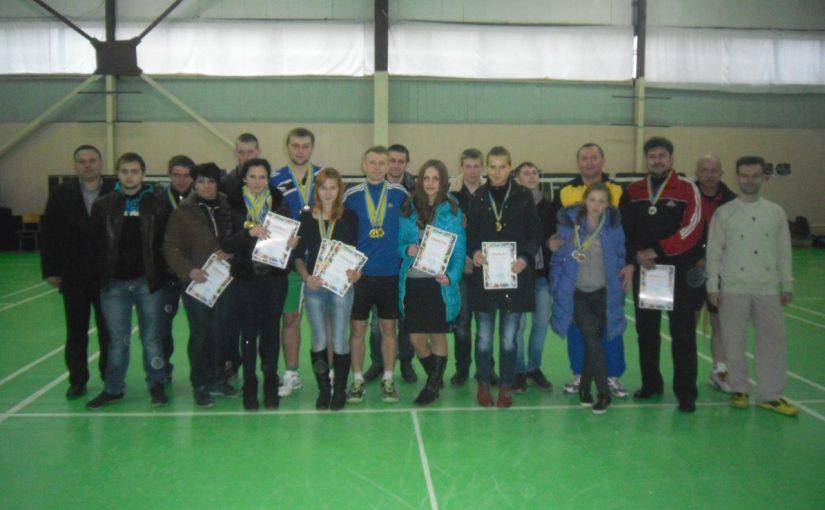 Чемпіонат Житомирщини з бадмінтону зіграли у технологічному університеті