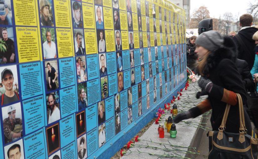 Студенство Житомирського технологічного університету вшанувало героїв Майдану та АТО