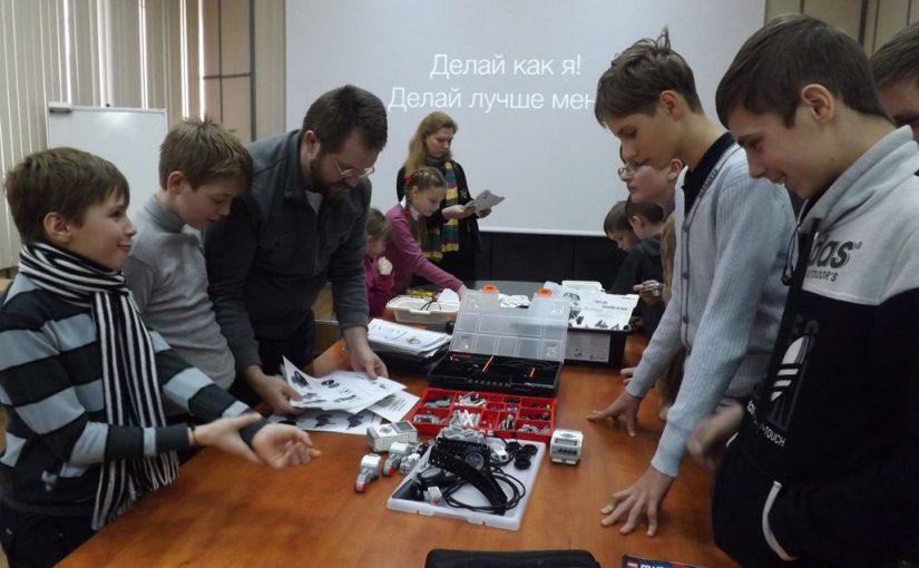 Житомирським школярам в технологічному університеті розповідали про технічну творчіть та програмування