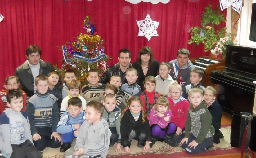 Студенти ЖДТУ вітали з Миколаєм вихованців дитбудинків та інтернатів