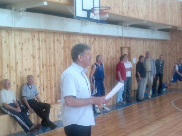 Баскетбольний турнір пам'яті чемпіона світу Геннадія Чечуро на базі ЖДТУ