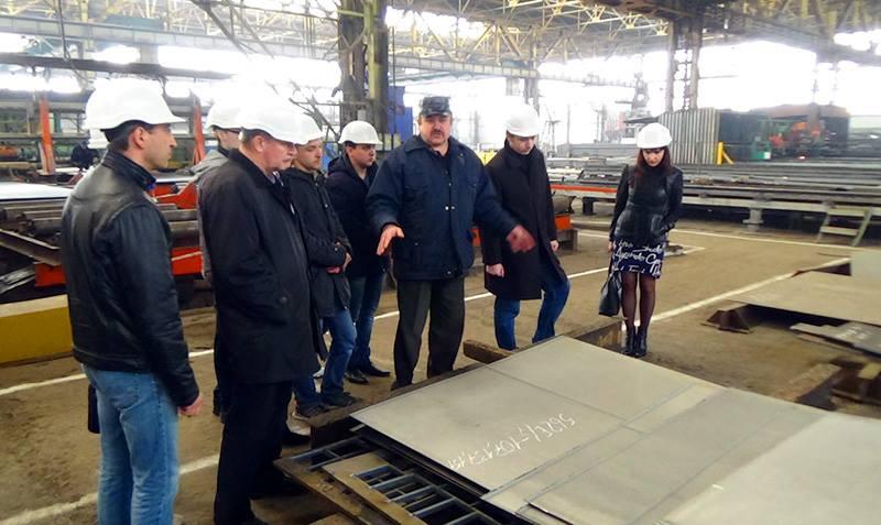 Випускників факультету інженерної механіки ЖДТУ запрошують працювати на заводі металевих конструкцій
