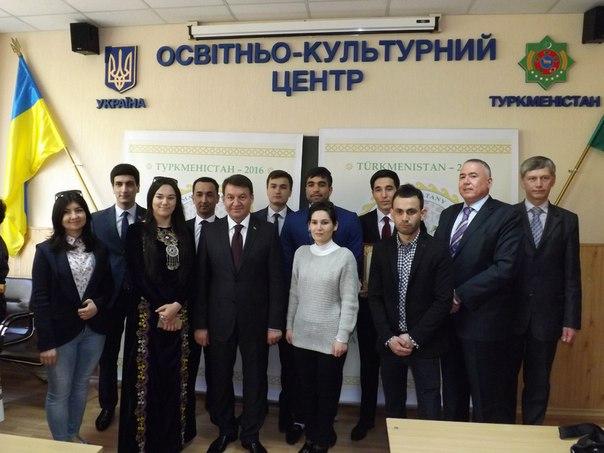 Посол Аманмурадов Нурберди відкрив у ЖДТУ Українсько–Туркменський освітньо-культурний центр