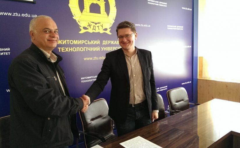 ЖДТУ продовжує співпрацювати із Економічною академією ім. Д. А. Ценова у Болгарії