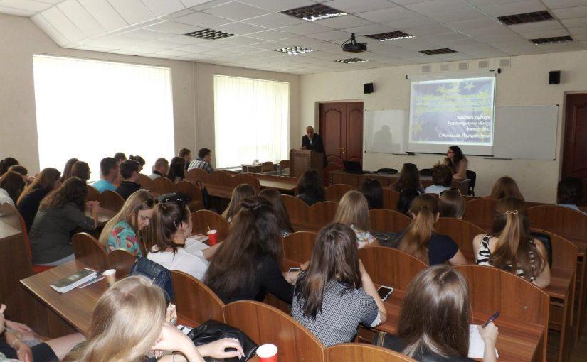 Станіслав Алєксандров у ЖДТУ порівнював проблеми бухгалтерського обліку в Україні та Болгарії