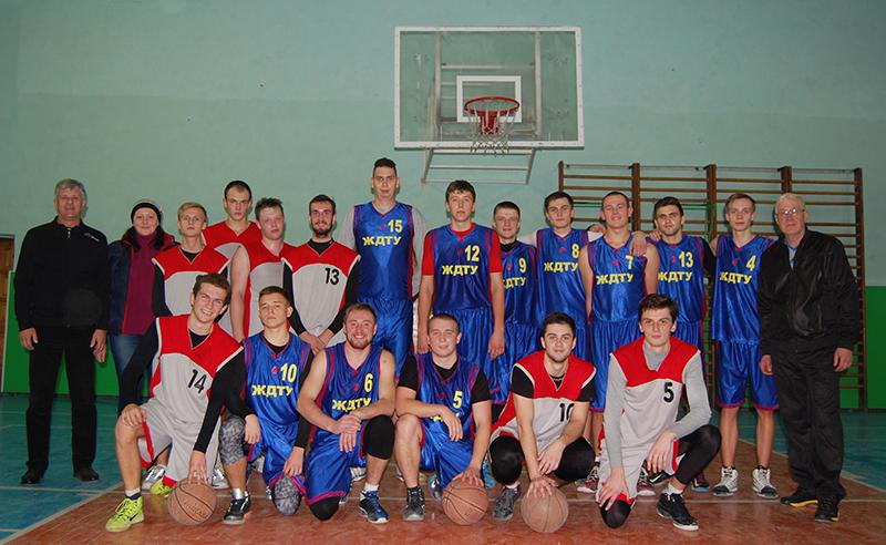 Команда ЖДТУ – переможець студентської баскетбольної ліги міста