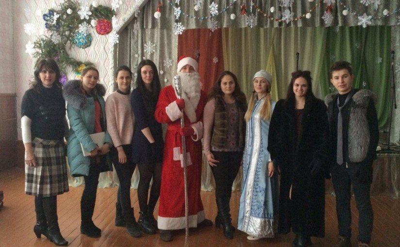 До вихованців Тетерівського дитбудинку-інтернату з подарунками завітали студенти ЖДТУ
