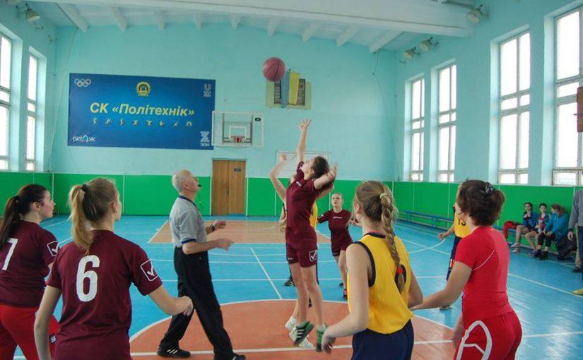 У ЖДТУ визначили кращу баскетбольну команду школярок в області