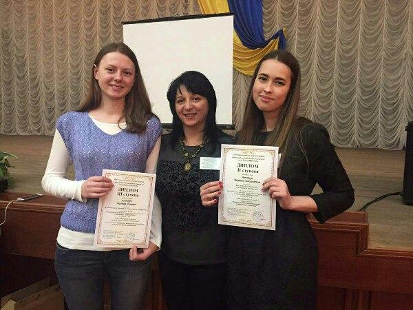 Вітаємо переможців конкурсу студентських наукових робіт з «менеджменту»