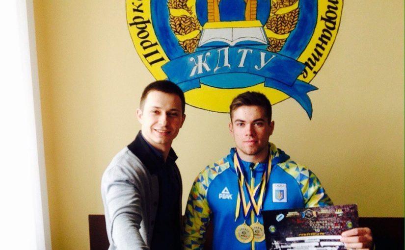 Студент ЖДТУ здобув «золото» Кубку Поділля з пауерліфтингу