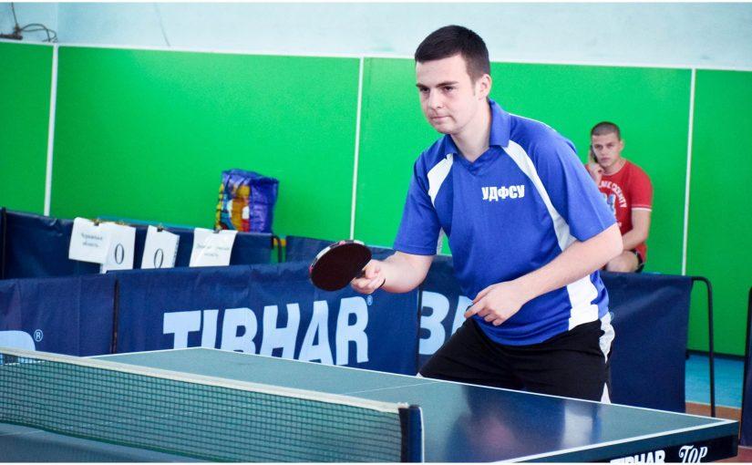 ЖДТУ приймає фінальні змагання літньої Універсіади України з настільного тенісу