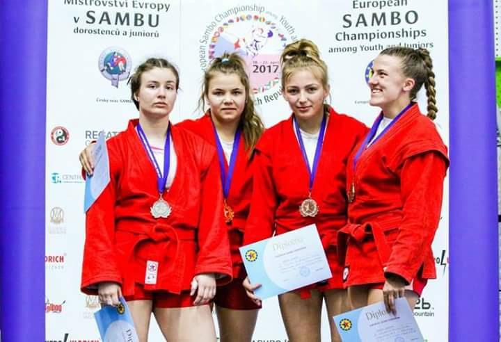 На Чемпіонаті Європи з боротьби самбо студентка ЖДТУ виборола «бронзу»