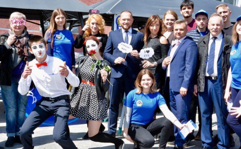 На «Ярмарку вакансій» у Житомирі найпопулярнішою була локація ЖДТУ
