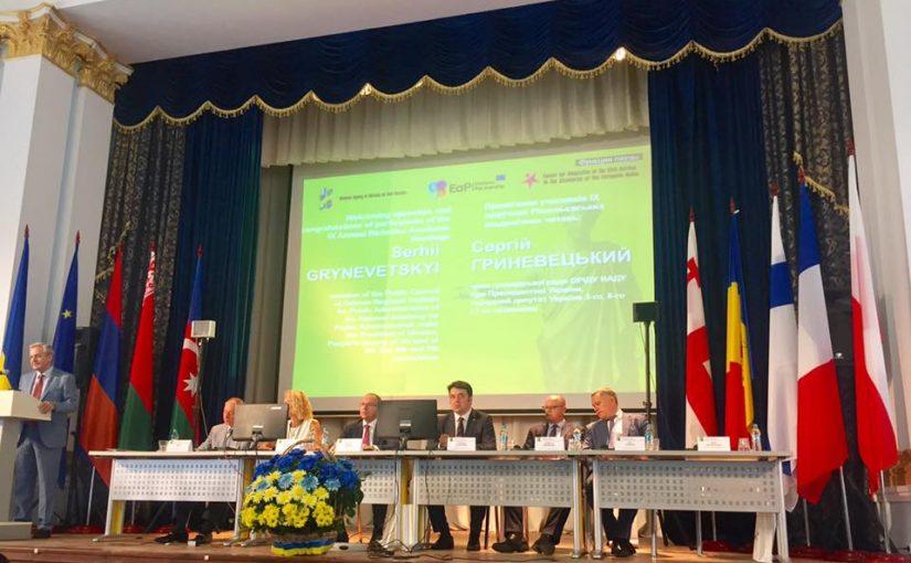 Участь у Рішельєвських академічних читаннях в Одеському регіональному інституті державного управління НАДУ