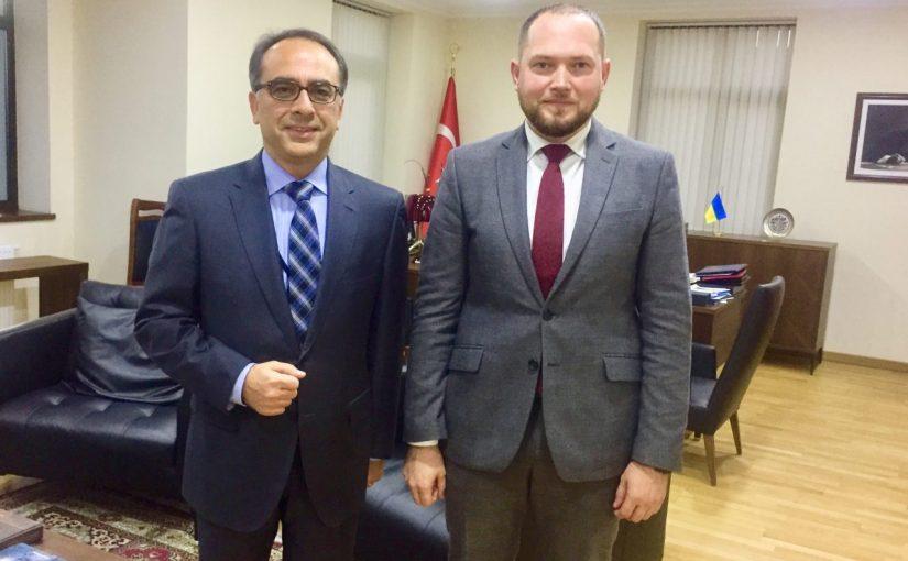 У Посольстві Республіки Туреччина в Україні відбулася робоча зустріч з Послом
