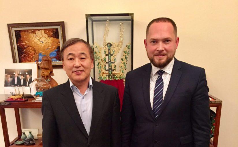 Надзвичайний і Повноважний Посол Республіки Корея зустрівся з ректором ЖДТУ