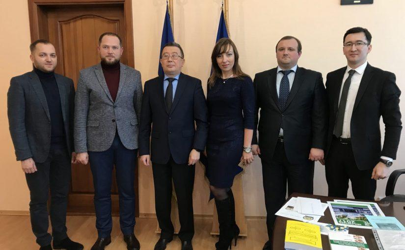 Посол Республіки Казахстан в Україні відвідав Житомирський державний технологічний університет