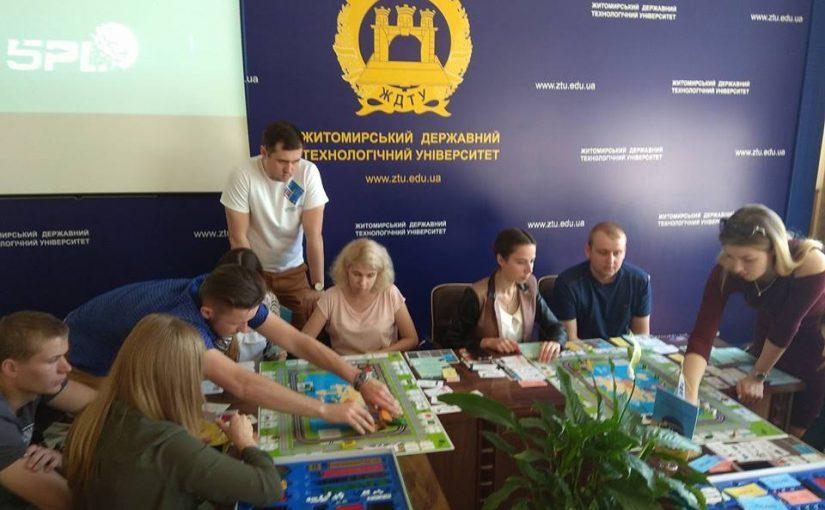 Турнір бізнес-гри «Business on the move» за участі студентів ЖДТУ
