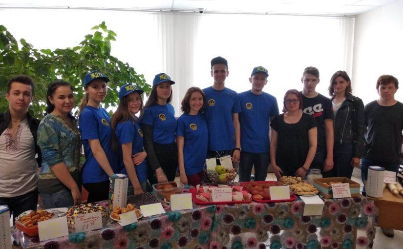 Благодійний ярмарок на підтримку студента ЖДТУ Віктора Гордійчука