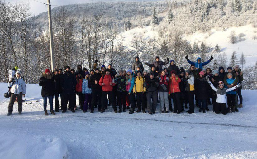 Зимові канікули студентів ЖДТУ в Карпатах
