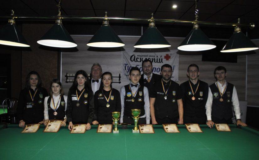 Перемоги студентів ЖДТУ на Чемпіонаті України з більярдного спорту серед студентів