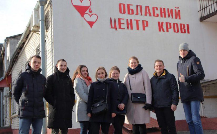Благодійна акція студентів ЖДТУ зі збору донорської крові
