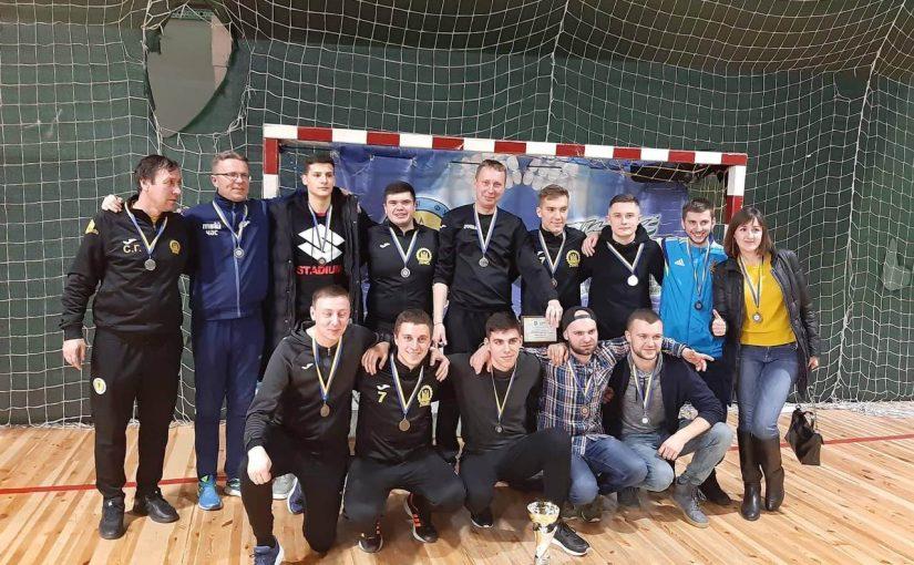Команда ЖДТУ-Твій Час здобула срібні медалі Першої ліги Чемпіонату м. Житомира з футзалу та вийшла у Вищу лігу