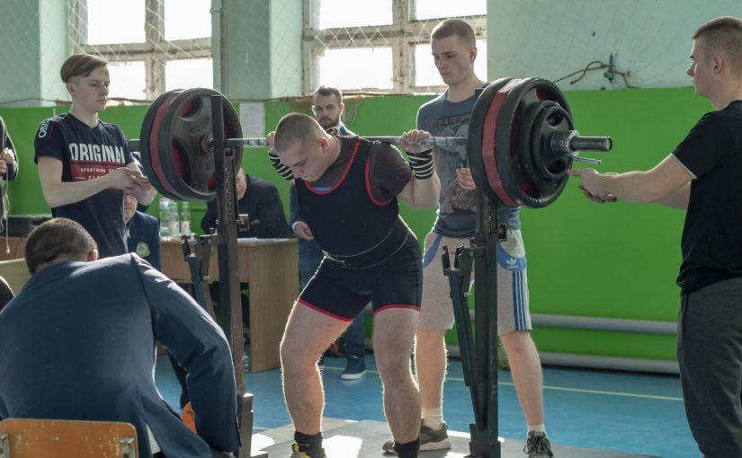 Відкритий чемпіонат Житомирської області з класичного та екіпірувального пауерліфтингу (IPF) в ЖДТУ