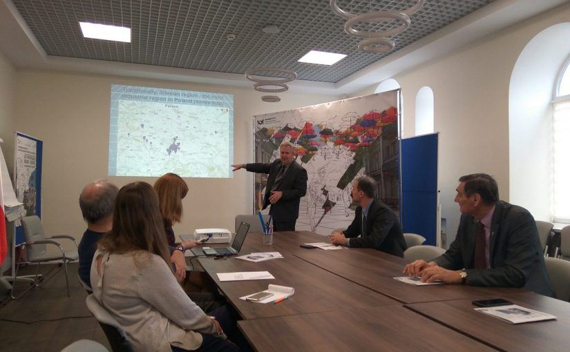 Візит професора Сілезької політехніки до ЖДТУ в рамках проекту «SmaLog»