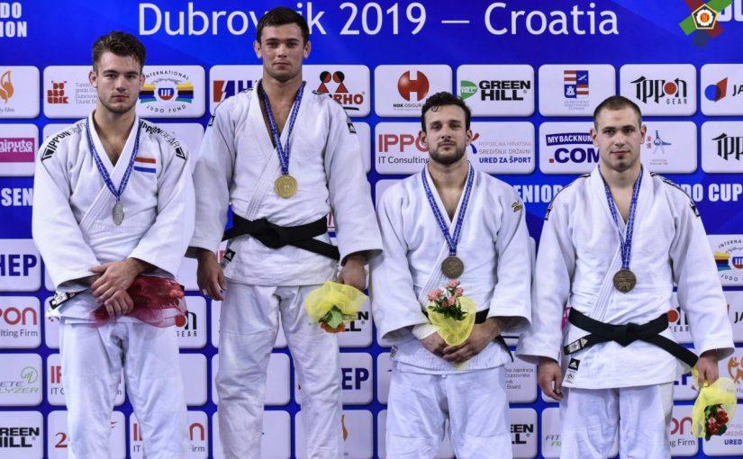 Студент ГЕФ Владислав Гринчук – призер Кубку Європи з дзюдо (м. Дубровник, Хорватія)