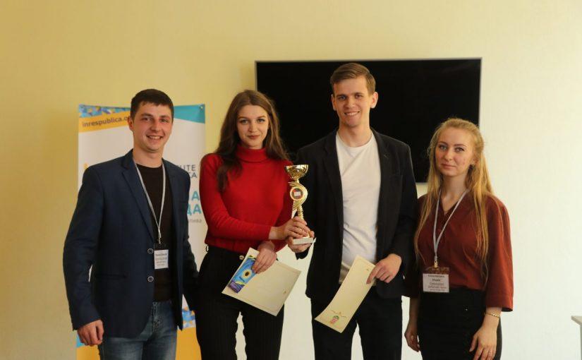 Участь команди університету в Регіональному дебатному турнірі серед студентів м. Житомира