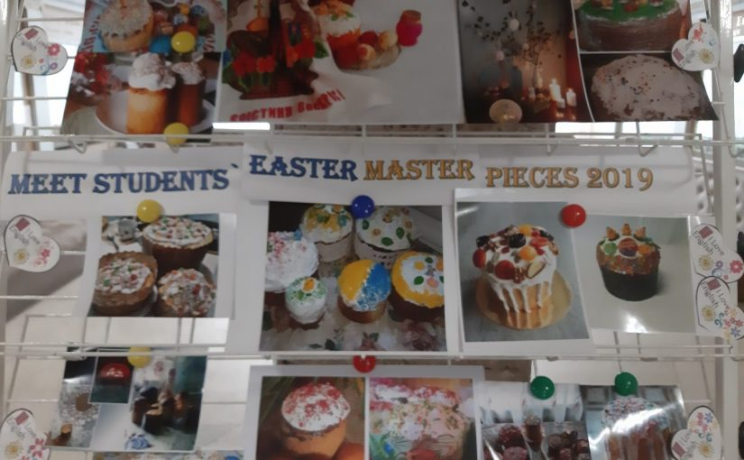 MEET STUDENTS' EASTER MASTERPIECES 2019