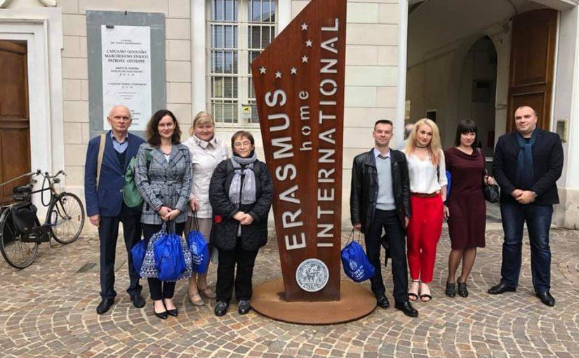 Координаційна нарада по проекту Еразмус+ в Університеті м. Парма, Італія