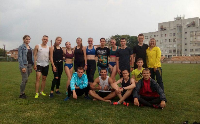 Представники Житомирської політехніки стали переможцями та призерами чемпіонату Житомирської області з легкої атлетики