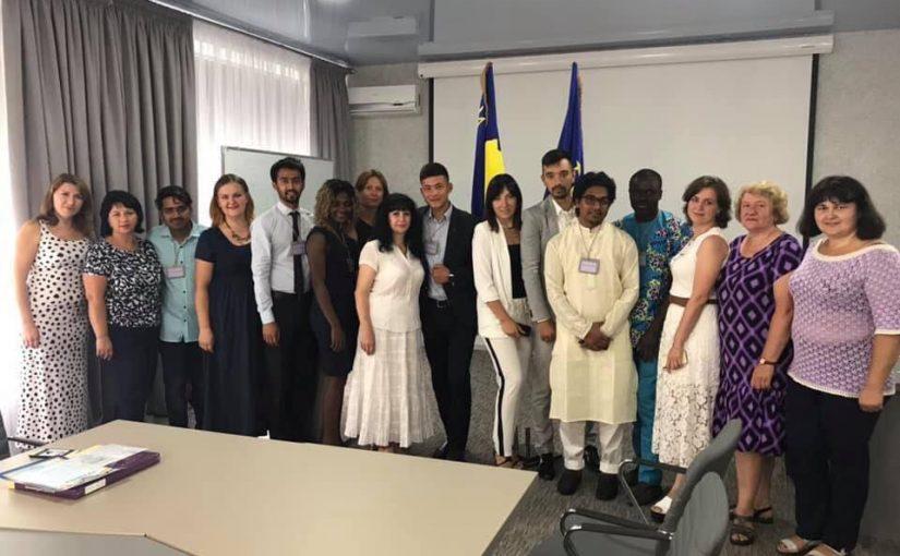 Випуск студентів-іноземців на підготовчому відділенні Житомирської політехніки
