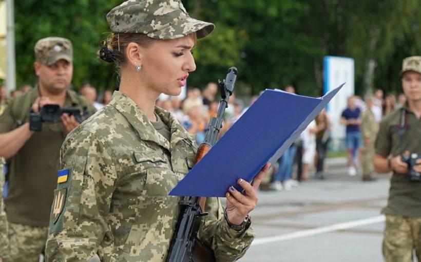 Урочистості з нагоди складання Військової присяги студентами