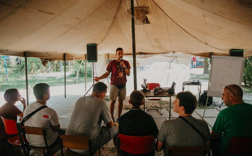 Студент Житомирської політехніки Ярослав Козяр став куратором суб-фестивалю «Робо-фест» під час фіналу ХХI Студреспубліки-2019