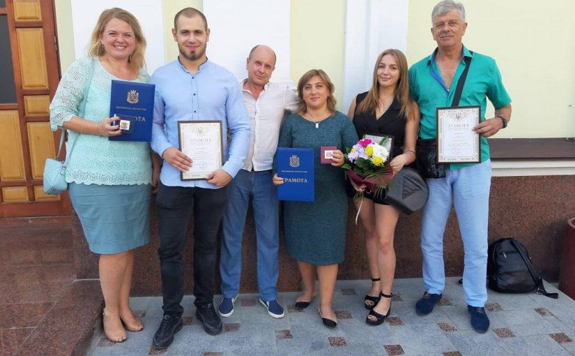 Нагородження представників Житомирської політехніки з нагоди Дня фізичної культури і спорту