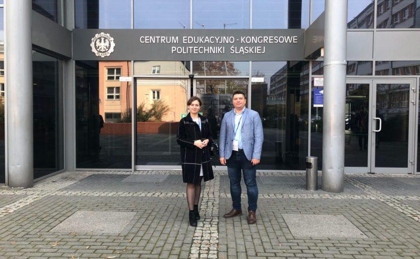 Участь співробітників університету в міжнародному навчальному семінарі в «Сілезькій політехніці»