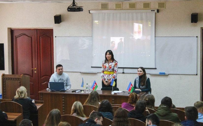 У Житомирській політехніці відбулась зустріч з представником організації «Бакинського міжнародного центру мультикультуралізму»