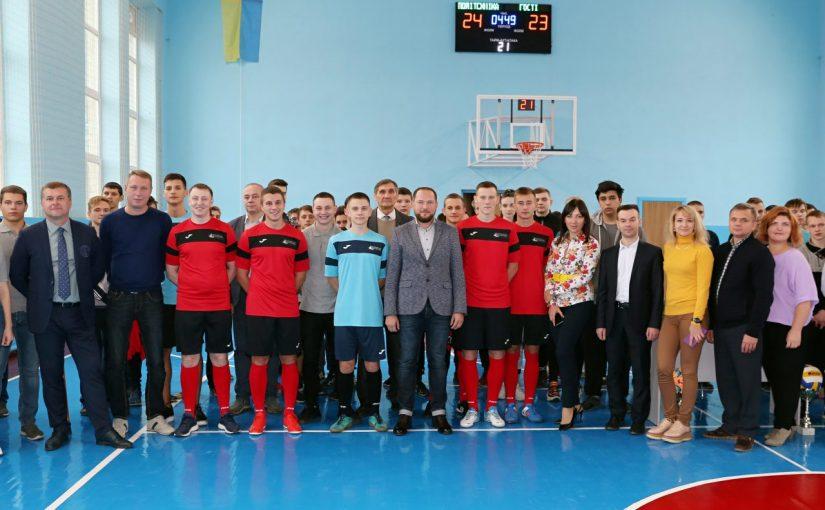 Урочисте відкриття спортивної зали Житомирської політехніки після капітального ремонту