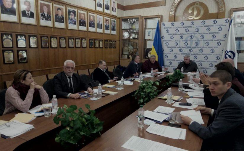 Професор Кирилович В.А. – учасник засідання Президії федерації сучасного п'ятиборства України