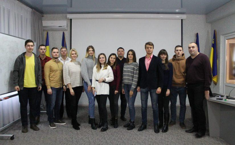 У конференц-залі Житомирської політехніки відбулась зустріч зі студентами-учаcниками міжнародних програм академічної мобільності 2019 року