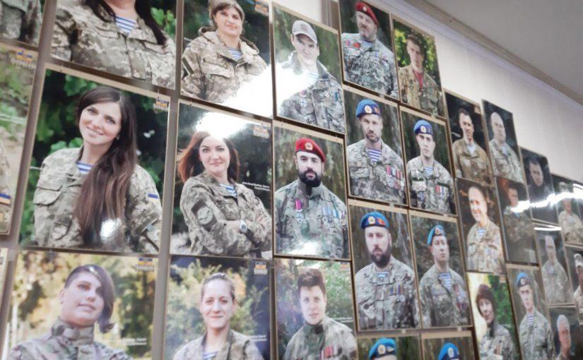 Студенти Житомирської політехніки відвідали відкриття фото-виставки «Погляд АТО. 1000 облич»