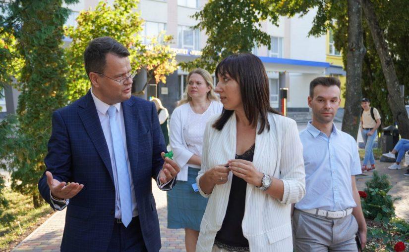 Заступник Міністра освіти і науки України Ігор Гарбарук відвідав Житомирську політехніку