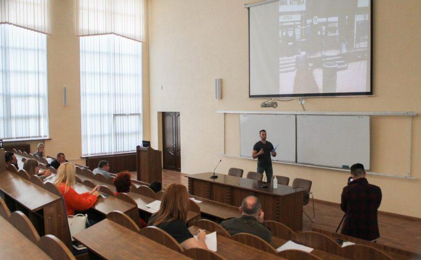 Тренінг у Житомирській політехніці для слухачів курсів з організації власної справи в рамках проекту Норвегія-Україна